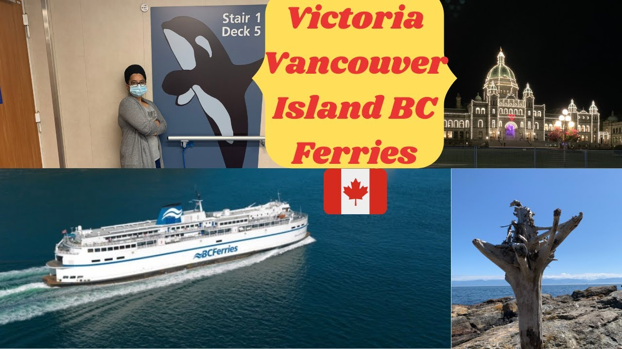 Victoria | Ferry ⛴ Travel | Vancouver Island part-3 | Travel Guide | Life Tuber