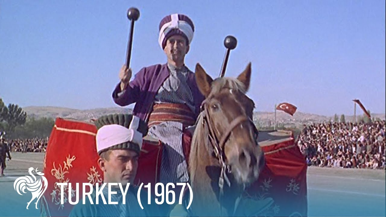A Travel Guide to Turkey in the Sixties: From Waterfalls to Cotton Cliffs (1967)   British Pathé