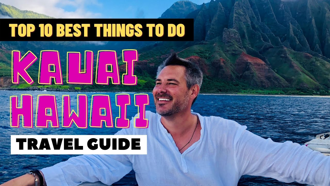 KAUAI HAWAII TRAVEL GUIDE | Top 10 MOST Crazy, Romantic, Delicious and Breathtaking Things To Do!!