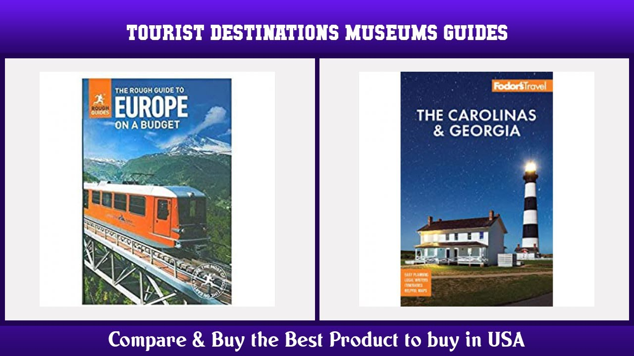 Top 10 Tourist Destinations Museums Guides to buy in USA 2021 | Price & Review