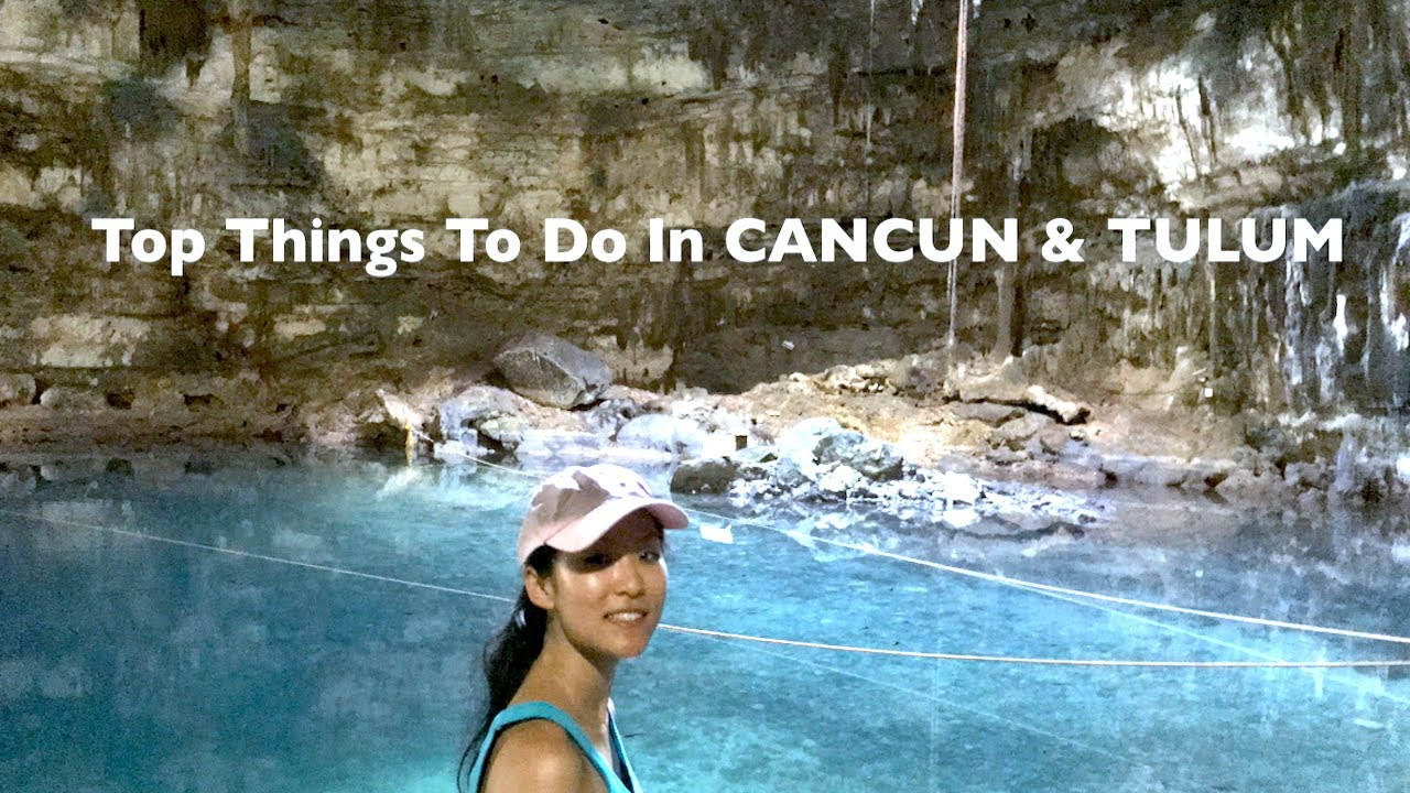 Visit TULUM and CANCUN MEXICO Travel Guide 2-3 days - How to Travel and What to Know about -  VLOG