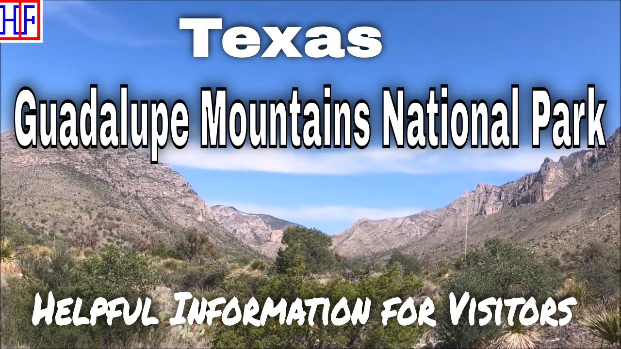 Guadalupe Mountains National Park – Texas   Beautiful America Series – Travel Guide - Episode# 21