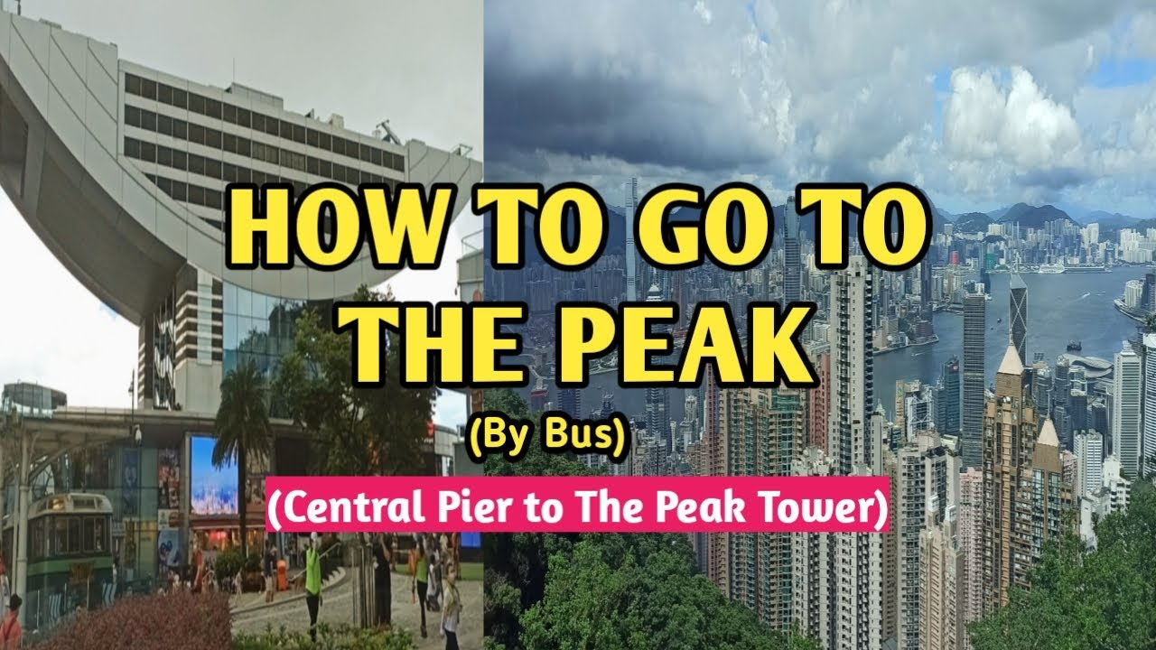 How to go to THE PEAK || The Peak Hong Kong Travel Guide || QueenC vlogs