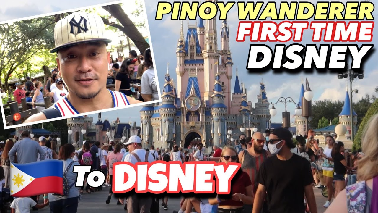 PINOY WANDERER | YOUR TRAVEL GUIDE TO WORLD DISNEY FLORIDA USA - IM A KID AGAIN in THIS VIDEO