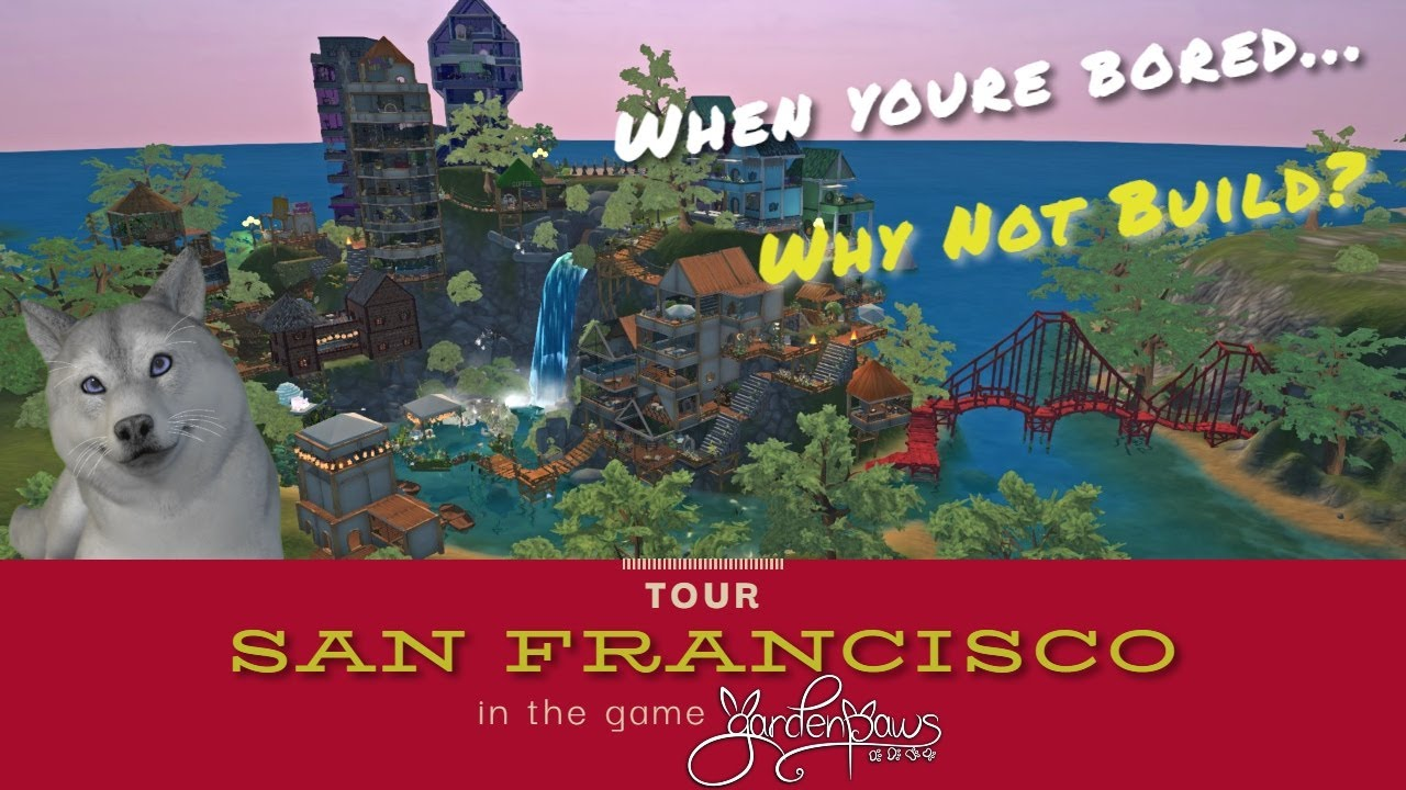 San Francisco in Miniature | Garden Paws | Fun Facts and Travel Guide to the City By the Bay