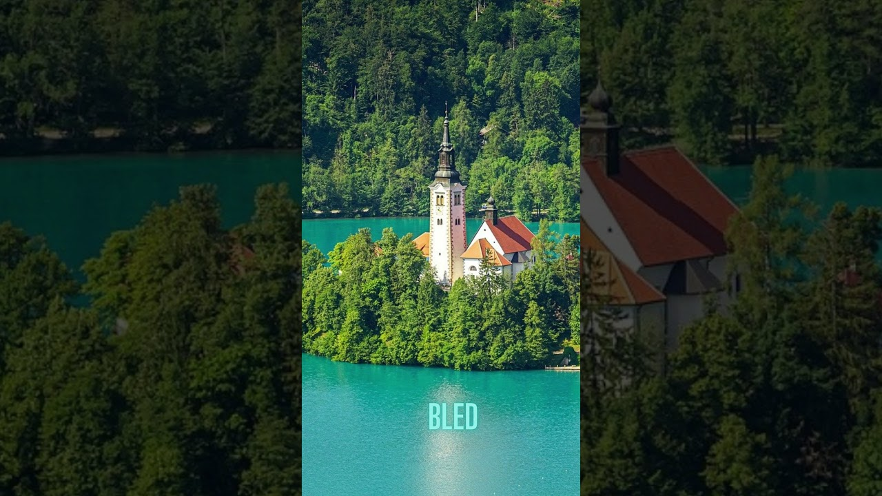 5 Best Places to Visit in Slovenia  travel guide  travel destinations #Shorts