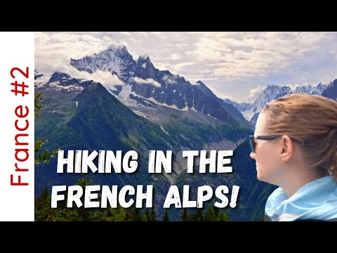 CHAMONIX: Hiking Grand Balcon Nord and Sud   France Travel Guide Vlog 4K