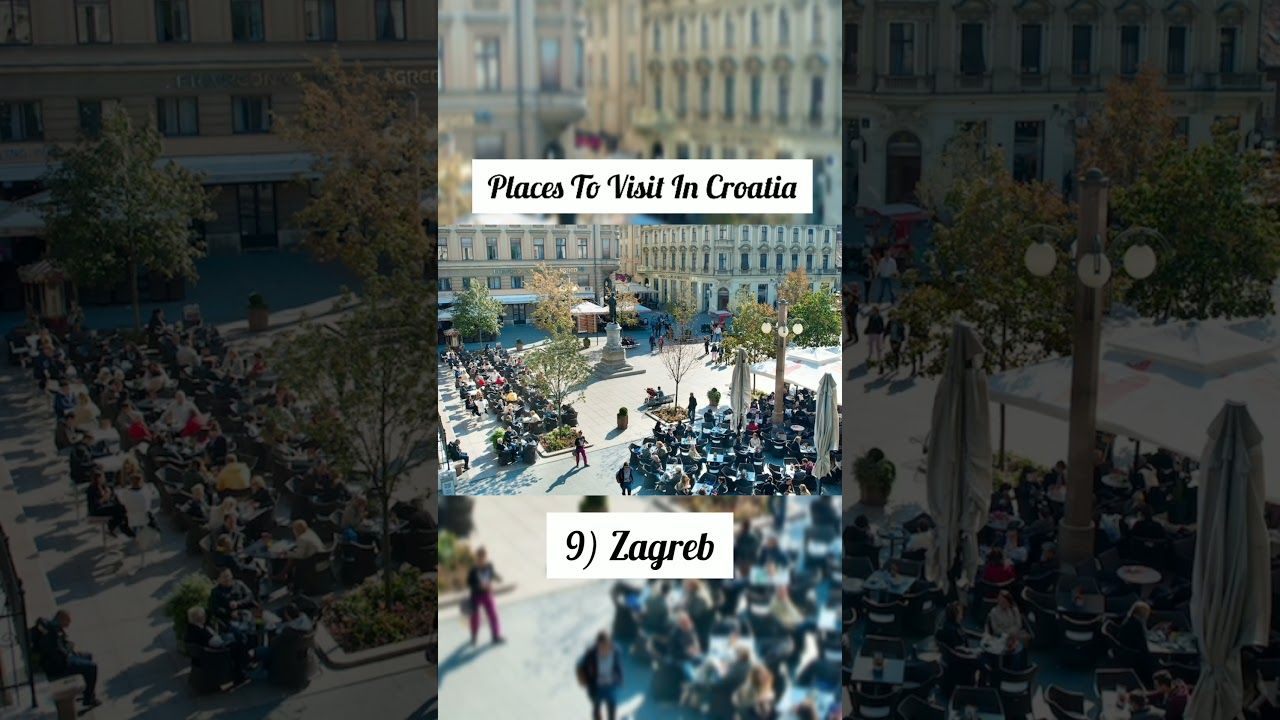 Places To Visit In Croatia | Croatia Travel Guide #shorts #travel #travelshorts #tourism #trending
