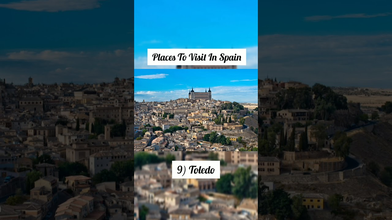 Places To Visit In Spain | Spain Travel Guide #shorts #travel #travelshorts #tourism #trending