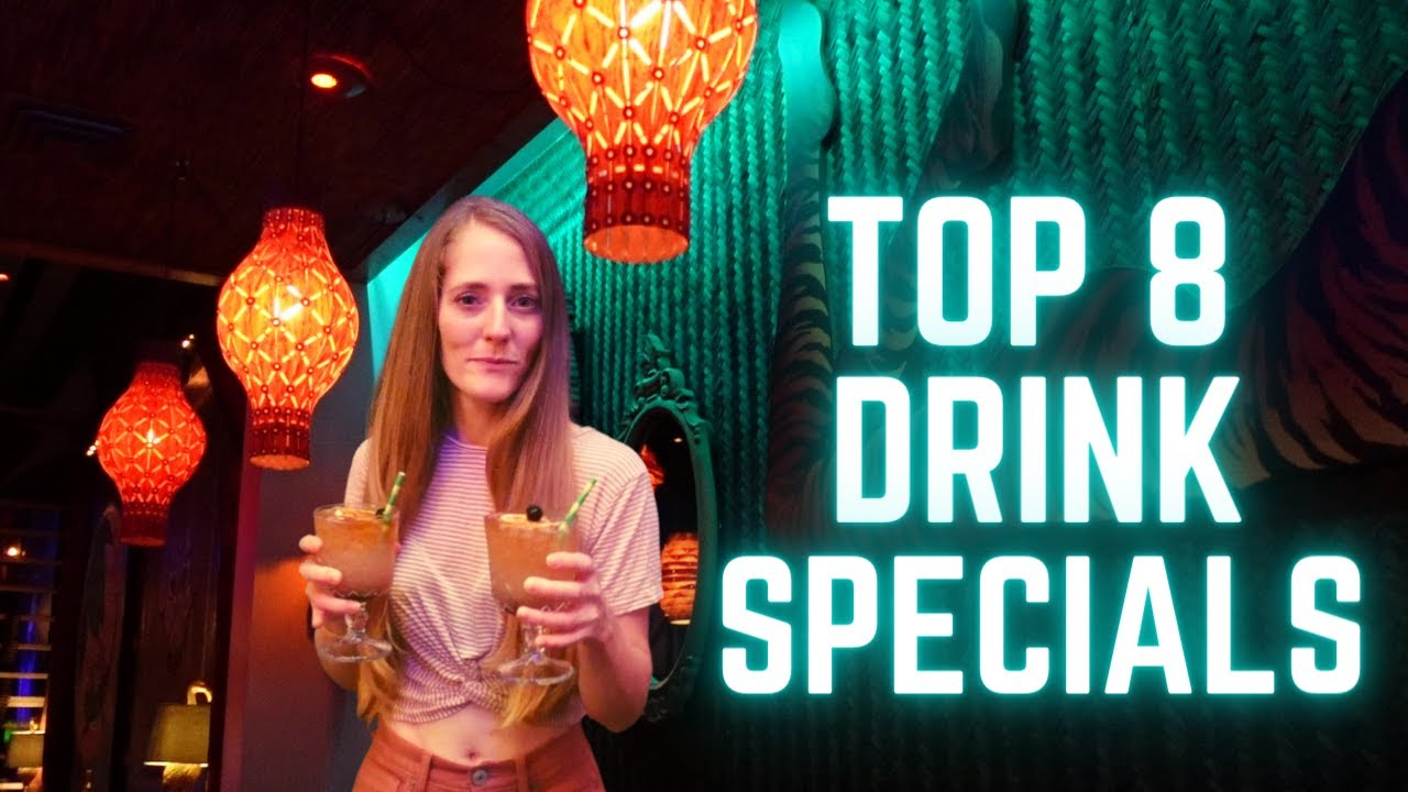 St Petersburg, Florida | Top Weekday Drink Specials | St Pete Travel Guide