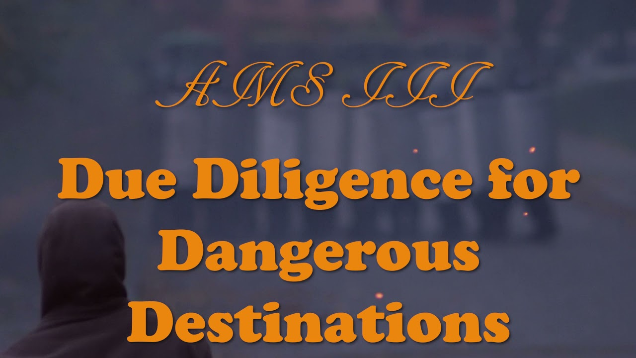 Travel Guide: Due Diligence for Dangerous Destinations (Video Travel Guide)