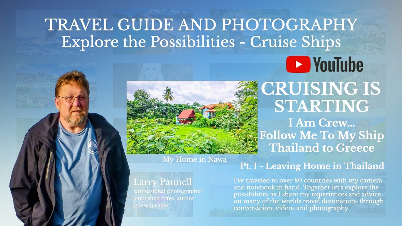 Travel Guide and Photography   Cruising Is Starting   I Am Crew Follow Me To My Ship - Leaving Nawa